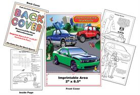 Chrysler Imprintable Coloring & Activity Book