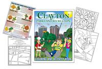 Clayton Parks and Recreation Coloring Book-2013