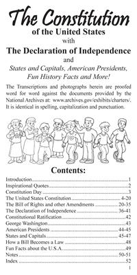 The U.S. Constitution Pocket Guide