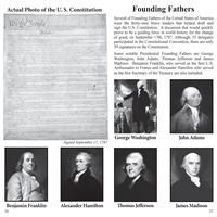 Pocket Guide Founding Fathers - Picture of  Constitution