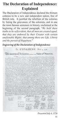 Declaration Independence US Constitution