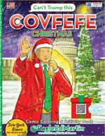 Covfefe - Christmas - Comic Coloring & Activity Book with Song