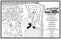Fully Customized Colorable Placemat