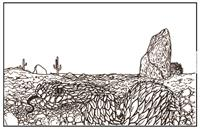 Adult - Desert Colorable Placemat