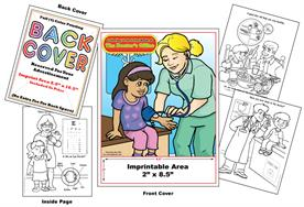 Doctors Office - Imprintable Coloring & Activity Book