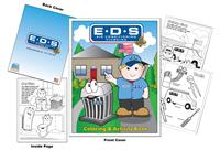 E-D-S Air Conditioning and Plumbing Custom Coloring Book