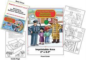 Earthquake Prepardness Imprintable Coloring Books