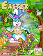Easter Cottontail Coloring Book with song