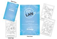 Fly Lansing Airport Coloring Book