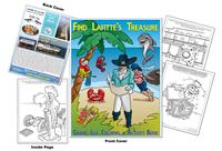 Grand Isle Community - Find Lafitte's Treasure Coloring & Activity Book