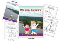 Grand River Dam Coloring Book - Water Safety