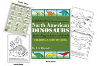 Guidebook to North American Dinosaurs According to Created Kinds Coloring & Activity Book by J.D. Mitchell