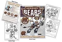 Hershey Bears Hockey Coloring Book