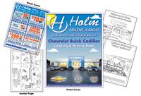 Holm - Chevrolet Buick Cadillac Custom Coloring Book