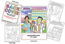 Hospital - Imprintable Coloring Book