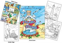 Island Village Coloring Book