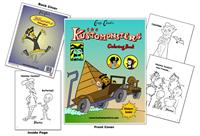 The Kustomonsters Coloring Book