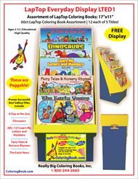Lap Top Coloring Books