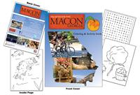 Macon-Bibb Georgia CVB Coloring & Activity Book