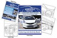 Marrickville Prestige Smash Repairs Coloring and Activity Book