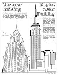 New York City Coloring and Activity Book - buildings