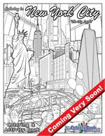 Coloring in New York City Coloring and Activity Book
