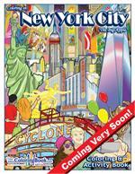 New York City Coloring and Activity Book - The Big Apple