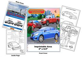 Nissan Imprintable Coloring & Activity Book