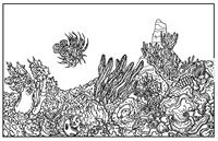 Adult - Ocean Colorable Placemat