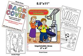 Orthodontics - Imprintable Coloring & Activity Book