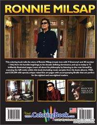 Life and Times of Ronnie Milsap Autobiography Coloring Book