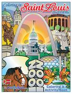 Saint Louis Coloring and Activity Book - Gateway to the West