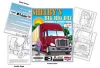 Shelbys Big Rig Day Coloring Book