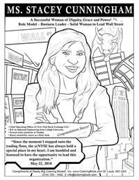 Stacey Cunningham - Free Online Coloring Pages