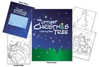 The Littlest Christmas Tree Coloring Book