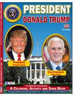 President Donald Trump - Vice President Mike Pence Coloring Book