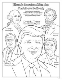 Donald J Trump historic American men