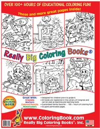 Twas Night Before Christmas Coloring Book