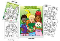 Veggie Strong Coloring Book