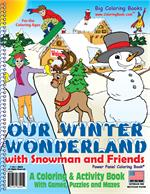 Our Winter Wonderland Power Panel Coloring Books