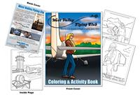 West Valley Flying Club Coloring & Activity Book