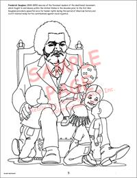 Giant Frederick Douglas Coloring Book