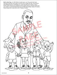 African American Leaders Really Big Coloring Book