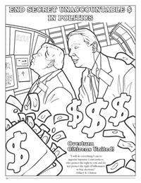Hillary Clinton Coloring Book - Unaccountable Money