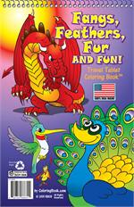 Fangs, Feathers, Fur and FUN! Coloring Books