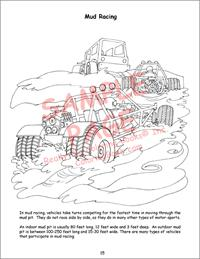 Racing Giant Coloring Book  Hot Rods