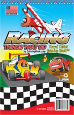 Racing Coloring Books