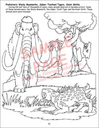 Giant Coloring Book of Zoo Animals