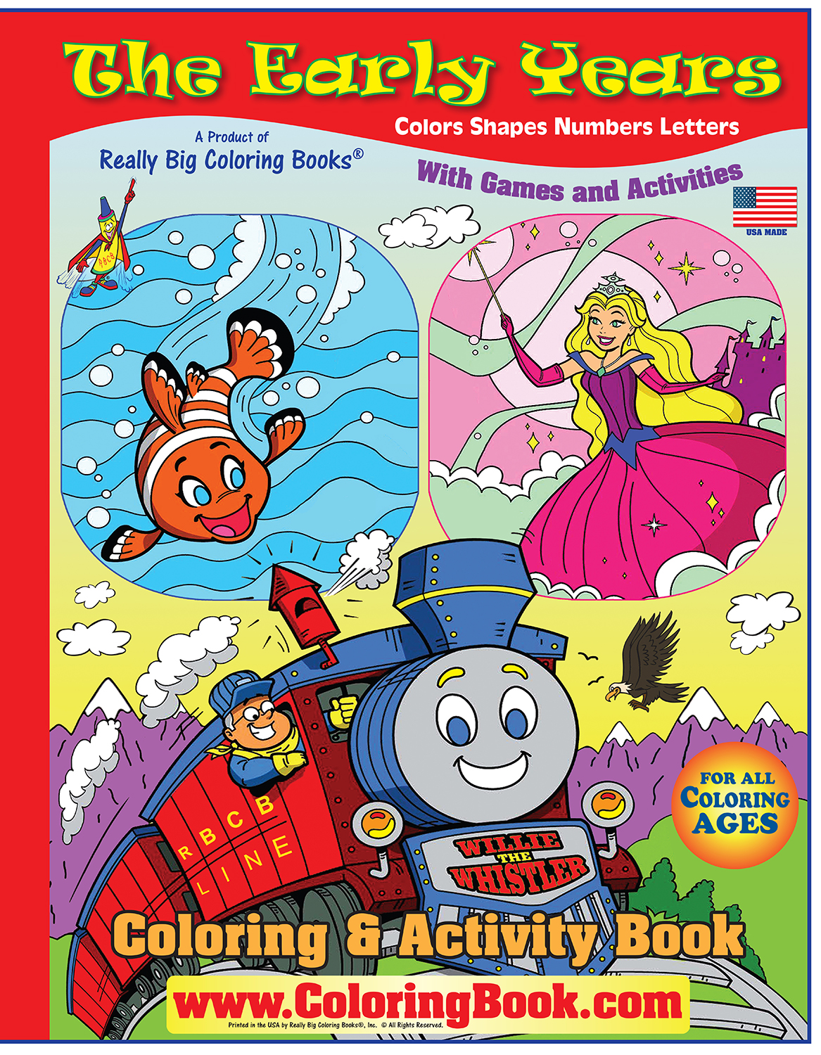 Coloring Books | The Early Years Really Big Giant Coloring Book