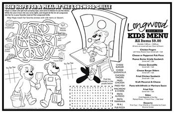 Colorable Placemats - Custom Placemats | ColoringBook.com